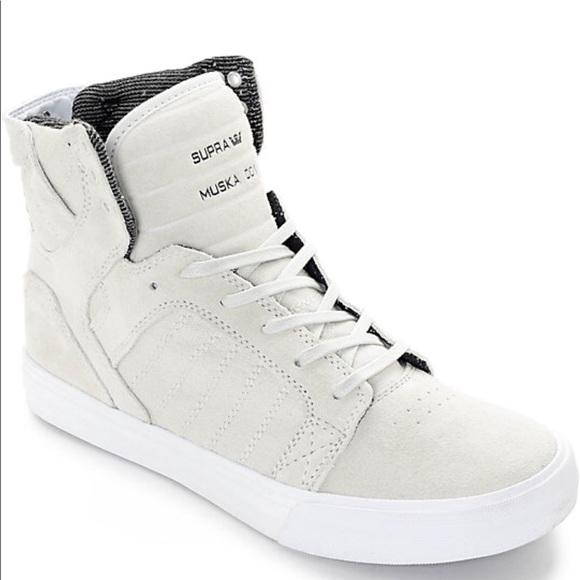 Men s Supra Muska 001 High Top Sneaker. M 5b34278da5d7c6d4b054ebdc b715c8c6ba95